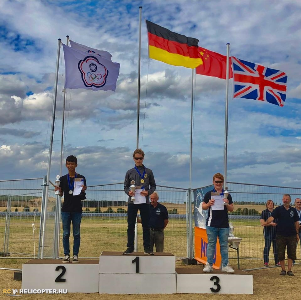 Scott Mayo on the podium at F3CN World Championship