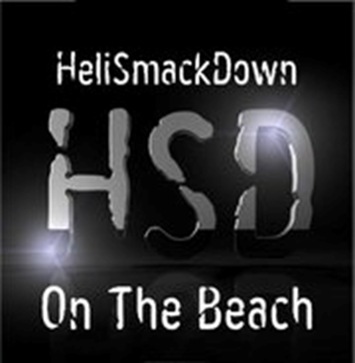 Heli Smack Down on the Beach
