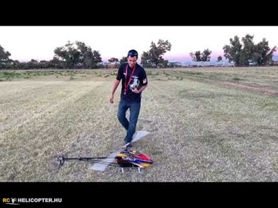 Freestyle 1. hely a Southwest Heli Rodeo-n