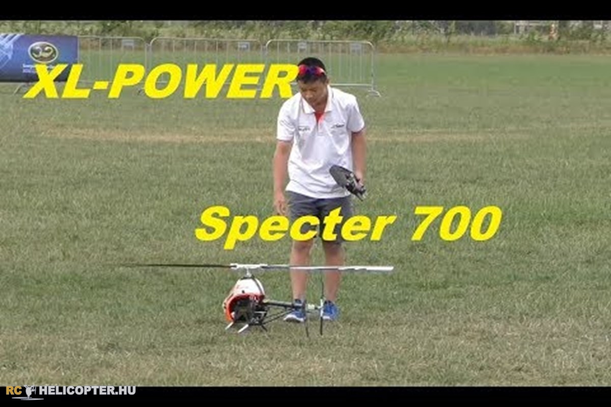 XLPower Specter 700 demo